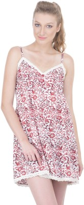 Oxolloxo Women's Nighty(Red) at flipkart