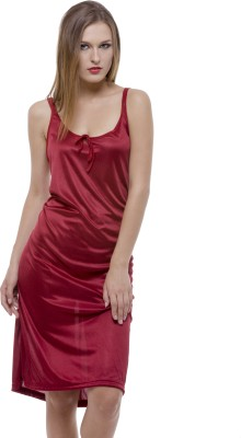 Being Fab Women's Nighty(Red) at flipkart