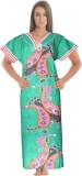 Ole Fashion Women's Nighty (Green)