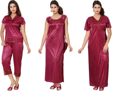 Go Glam Womens Nighty