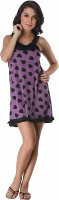 Belle Nuits Women's Nighty with Robe, Top and Capri