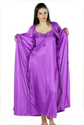 Turnpike Women's Nighty with Robe