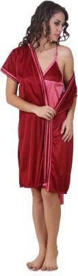 Masha Women's Nighty with Robe