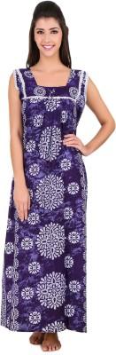 Masha Women's Nighty(Purple) at flipkart