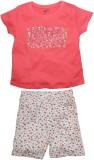 FS Mini Klub Kids Nightwear Girls Solid ...