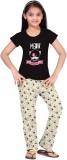 So Sweety Kids Nightwear Girls Printed C...