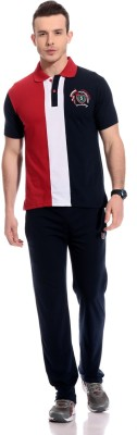 TAB91 Fashion Forecast Men's Striped Multicolor Top & Pyjama Set