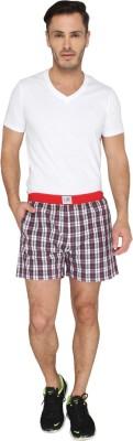 LUCfashion Men's Self Design Multicolor Top & Shorts Set