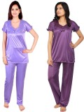 Krazy Katz Women's Solid Purple, Purple ...