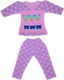 Smilee Kids Nightwear Girls Printed Cott...