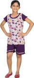 New Darling Kids Nightwear Girls Printed...