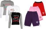 Gkidz Kids Nightwear Girls Printed Cotto...