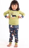 Lazy One Kids Nightwear Girls Animal Pri...
