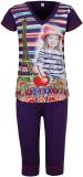 Jazzup Kids Nightwear Girls Printed Cott...