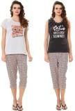AV2 Women's Printed Grey, Black, Orange ...
