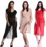 Belle Nuits Women's Solid Multicolor Top...