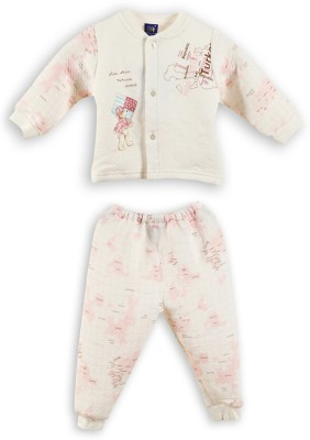 Lilliput Baby Boys Printed Pink Top & Pyjama Set