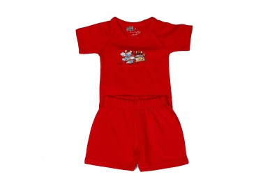 Sarodee Baby Boy's Red Bodysuit