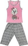 Kothari Kids Nightwear Girls Printed Cot...