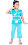 Gee & Bee Kids Nightwear Girls Printed C...