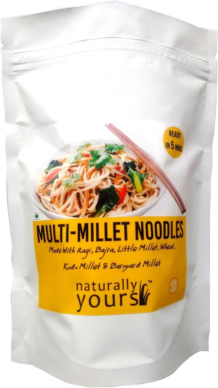 Naturally Yours Multi-Millet Instant Noodles 180 g(Veg,  Pack of 1)