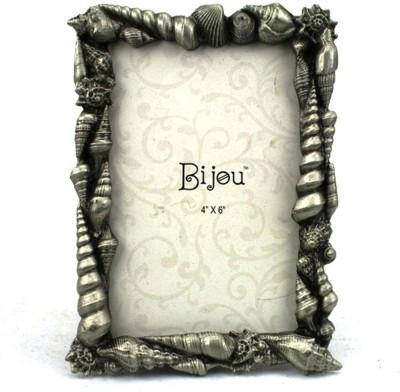 Bijou Handicraft Sea Shell Metal Photo Frame