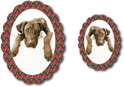Nourish Oval Photo Frame Fridge Magnet