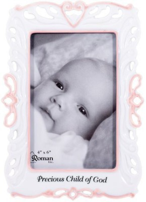 Roman Wood Photo Frame