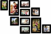 Urban Monk Creations Wood Photo Frame(Photo Size - 6*10 inchs, 5*5 inchs, 4*6 inchs, 10 Photos)