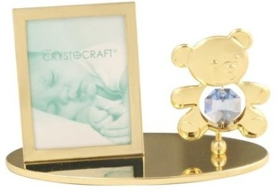 Crystocraft Glass Photo Frame