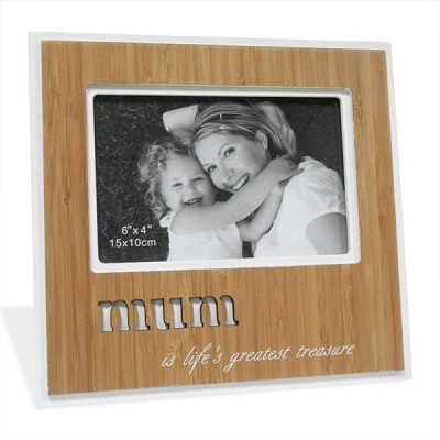 Archies Wood Photo Frame