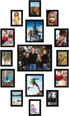 Desi Birthday MDF Photo Frame(Photo Size - 4 by 6 (4pc); 5 by 7 (4pc); 6 by 8 (4pc); 8 by 10 (2pc); 12 by 16 (1pc)., 15 Photos)