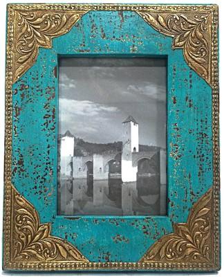 MohanJodero Wood, Metal, Glass Photo Frame