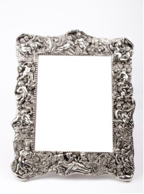 Friends India Silver-plated Photo Frame