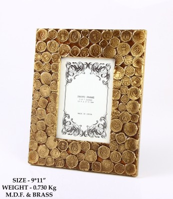 HandyMandyCrafts MDF, Metal Photo Frame