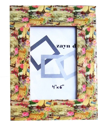 Zayn D, Wood Photo Frame