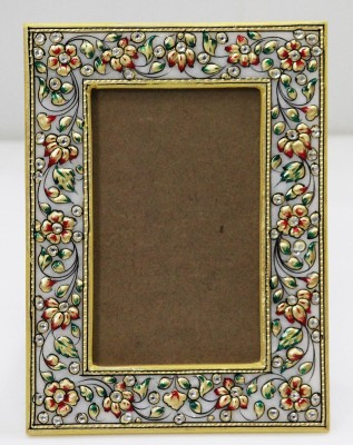 SR Crafts White Marble Photo Frame
