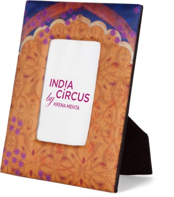 India Circus Glass Photo Frame
