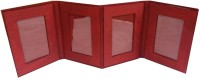 Indha Craft Generic Photo Frame(Red, 4 Photos)