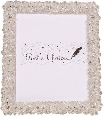 Poets Choice Acrylic, Metal Photo Frame