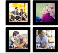 Painting Mantra MDF Photo Frame(Photo Size - 8x8, 4 Photos)