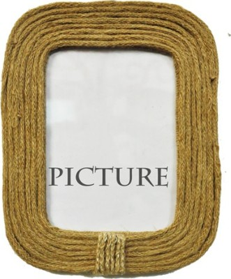 Dimensions Jute Photo Frame