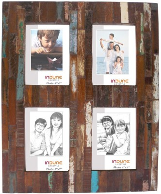 Indune Lifestyle Wood Photo Frame