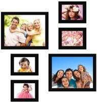 Desi Birthday MDF Photo Frame(Photo Size - 5 by 7 (4pc); 8 by 10 (2pc). Outer Dimensions in cm (LxWxD) for Frame: 17.5 x 12.7 x 1.8; 28.2 x 23 x 1.8,  best price on Flipkart @ Rs. 790