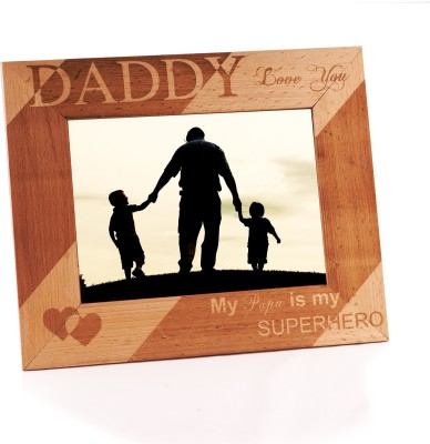 Capturing Happiness Wood Photo Frame