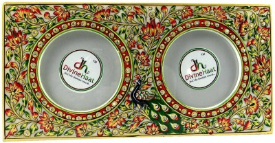 Divine Haat White Marble Photo Frame