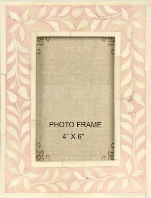 The Decor Mart White Marble Photo Frame