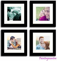 Painting Mantra Generic Photo Frame(Black, 4 Photos)