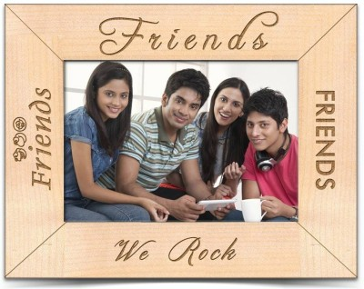 PrestoGifts Wood Photo Frame