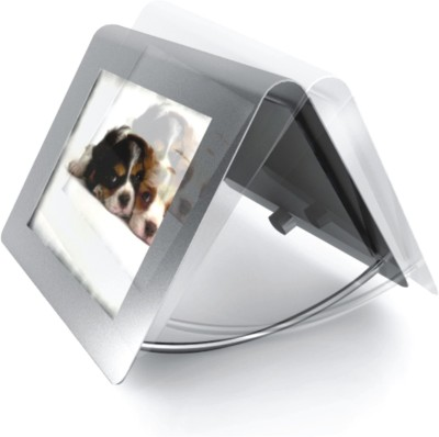House And Home Steel Photo Frame